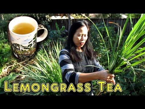 Easy Homemade Lemongrass Tea Recipe