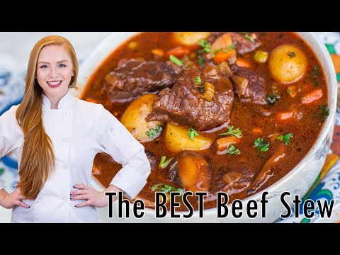 The BEST Beef Stew Recipe - Hundreds of 5-Star Reviews!!