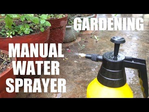 Gardening Gadget - Kisan Kraft - Manual Water Sprayer!