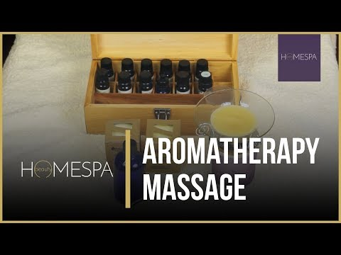 Aromatherapy Massage Techniques [Unintentional ASMR] - Step By Step Complete Series