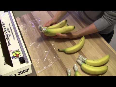 How to Slow Banana Ripening