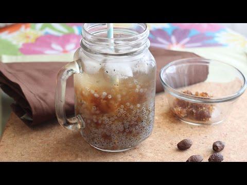 Nuoc Hot E Duoi Uoi (Thai Basil Seed Drink with Malva Nut)
