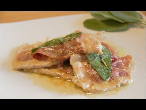 Saltimbocca Roman style - Italian traditional recipe (EN)