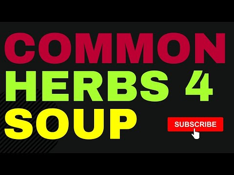 The Best Herbs To Use In Soup Recipes