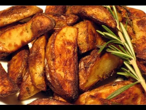 """Roasted Rosemary & Garlic Potatoes Recipe - Laura Vitale """"Laura In The Kitchen"""" Episode 26"""