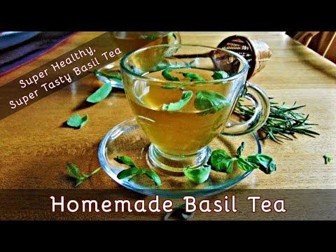 How to Make Basil Tea | A Super Healthy, Super Tasty Herbal Tea | #90