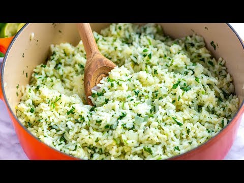 How to Make Perfect Cilantro Lime Rice